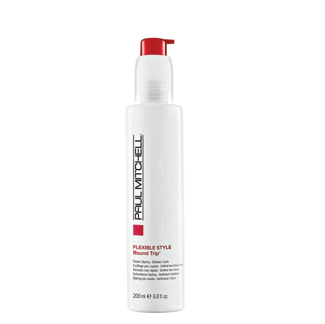iaahhaircare,Paul Mitchell FLEXIBLE STYLE Round Trip® Faster Styling. Defines Curls 1 x 200ml,Styling Products,Flexible Style Paul Mitchell