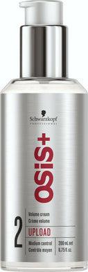 iaahhaircare,Schwarzkopf Osis + Upload Volume Cream 200ml x 1,Styling Products,OSIS Schwarzkopf