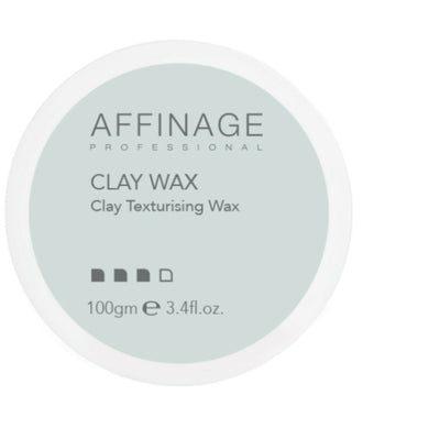 iaahhaircare,Affinage Professional Clay Texturising Wax 100ml x 1,Styling Products,Affinage Styling