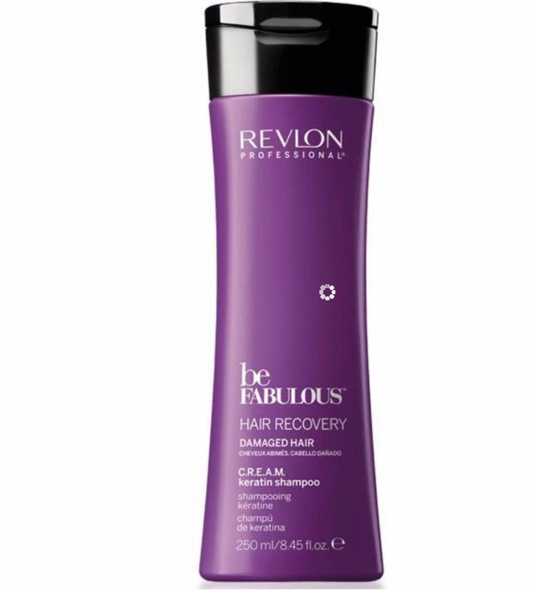 iaahhaircare,Revlon Professional Be Fabulous Damaged Hair Recovery C.R.E.A.M Shampoo,Shampoos & Conditioners,Revlon
