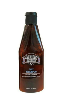iaahhaircare,American Barber Daily Shampoo 300ml Mens Haircare Shampoo,Shampoos & Conditioners,American Barber