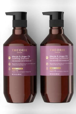 iaahhaircare,Theorie Marula and Argan Smoothing Shampoo and Conditioner 400ml,Shampoos & Conditioners,Theorie