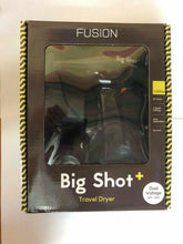 Load image into Gallery viewer, iaahhaircare,Fusion Big shot+ travel Dryer Black,HairDryer,Fusion Tools