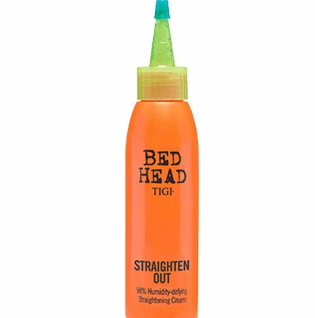 iaahhaircare,Tigi Bed Head Straighten Out 98% Humidity Defying Straightening Cream 120ml/4oz,Styling Products,Tigi