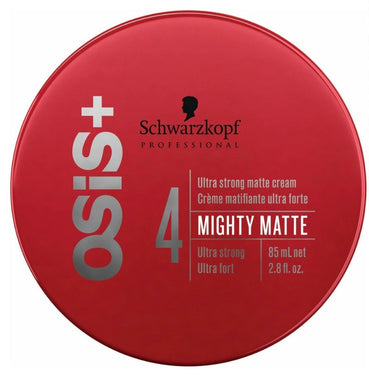 iaahhaircare,Schwarzkopf Osis+ Mighty Matte Ultra Strong Matte Cream (Ultra Strong) 85ml x 1,Styling Products,OSIS Schwarzkopf