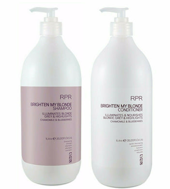 iaahhaircare,RPR Brighten My Blonde Shampoo & Conditioner 1 Litre Duo,Sets,RPR Hair Care