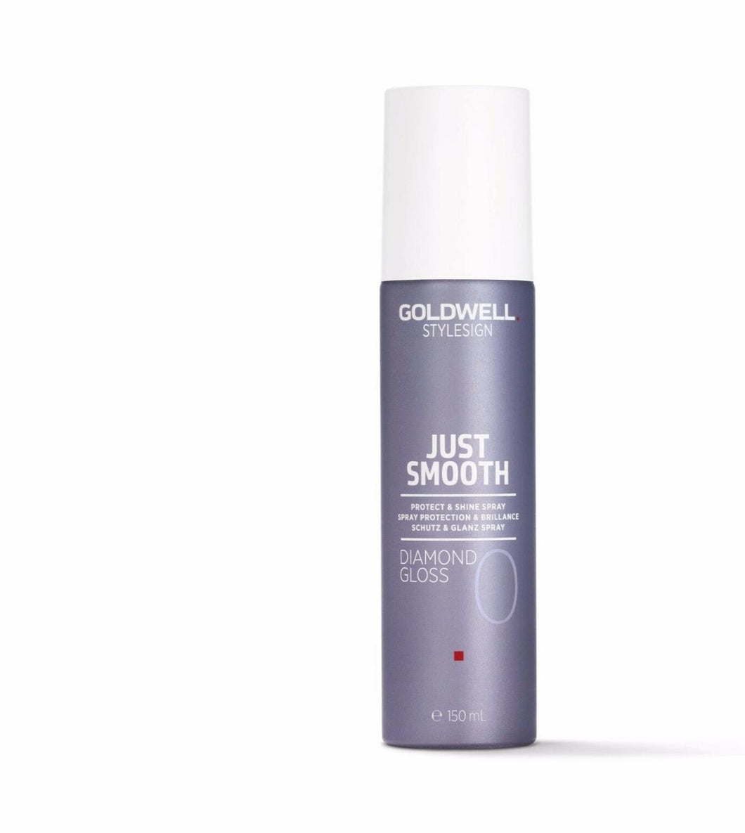 iaahhaircare,GOLDWELL Style Just Smooth Diamond Gloss Protect Shine Spray 150ml x 1 Stylesign,Styling Products,Style Sign