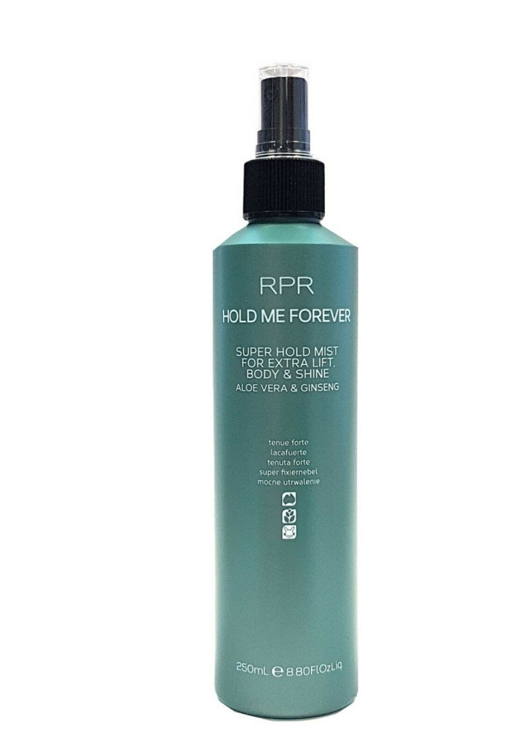 iaahhaircare,RPR Hold Me Forever 1 x 250ml Hair Styling Spray Strong Hold Lift Body,Styling Products,Styling RPR