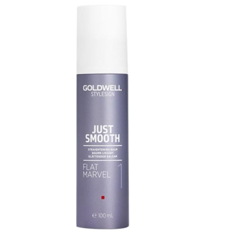 Goldwell StyleSign Flat Marvel 1 Just Smooth Straightening Balm 100ml x 1 - On Line Hair Depot