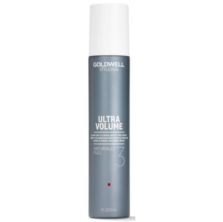 Goldwell  StyleSign Naturally Full 3 Blow Dry Finishing Spray 200ml x 1 - On Line Hair Depot