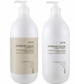 RPR Extend My Colour Shampoo & Conditioner Litres with Pumps 1lt duo - On Line Hair Depot