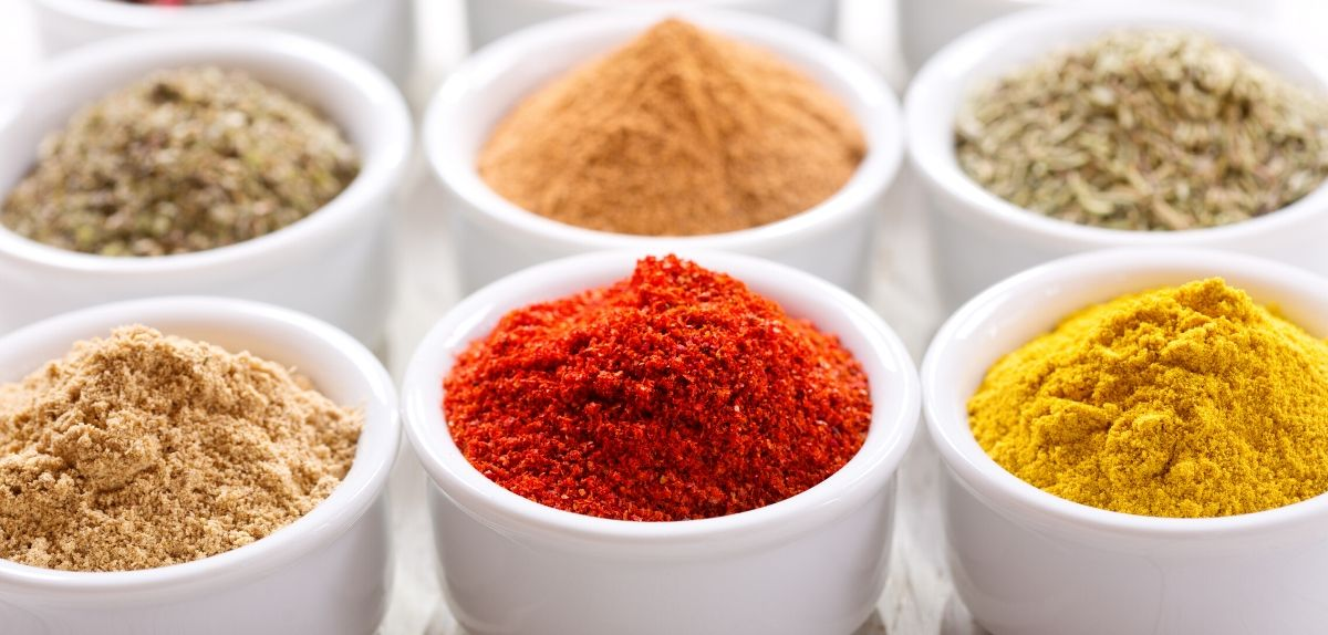 dried spices and herbs