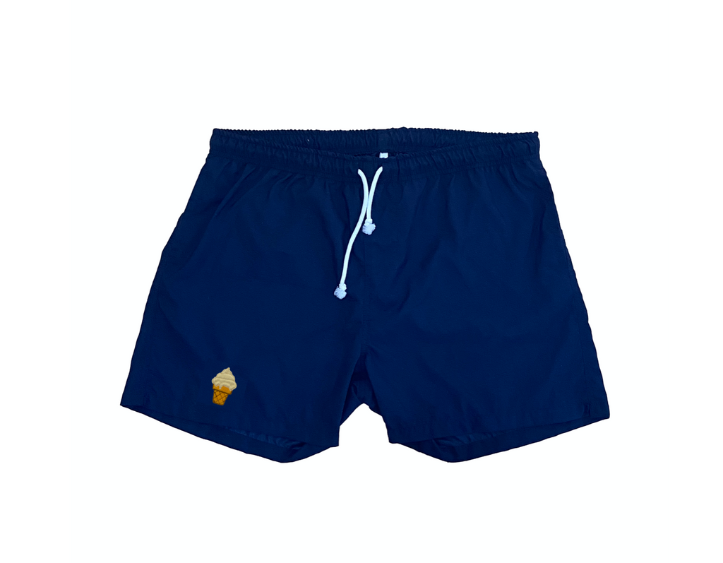 """ice cream"" swim shorts"