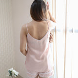 Peach Pomp Nightwear Set