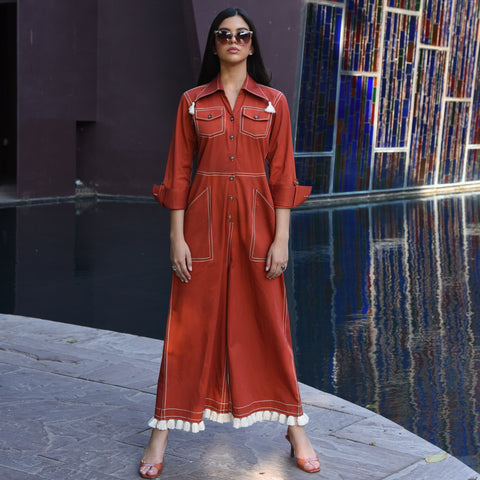 Autumn Spice Jumpsuit