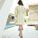 Bottom Down Stripes Dress