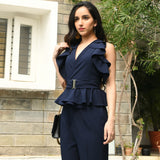 Dark Blue Co-ord Set