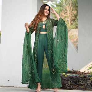 Emerald Green Co-ord Set