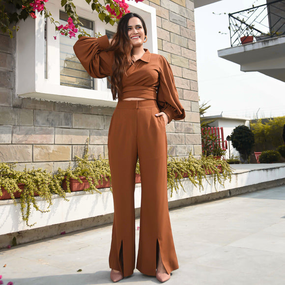 Burnished Brown Co-ord Set