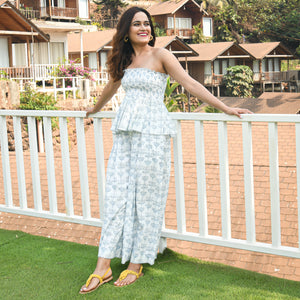 Faience White Co-ord Set