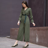 Kale Green Jumpsuit