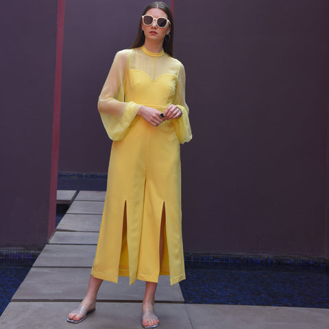 Tulip Yellow Jumpsuit