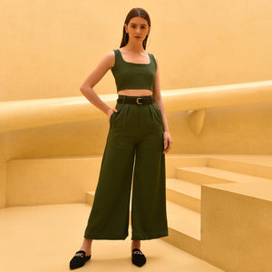 Deep Green Co-ord Set
