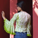 Pea Pudding Fringe Cotton Top