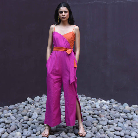 Oriole Cotton Jumpsuit