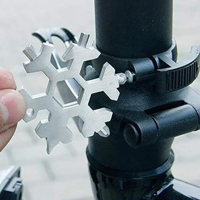 18-in-1 Stainless Snowflake Multi-Tool