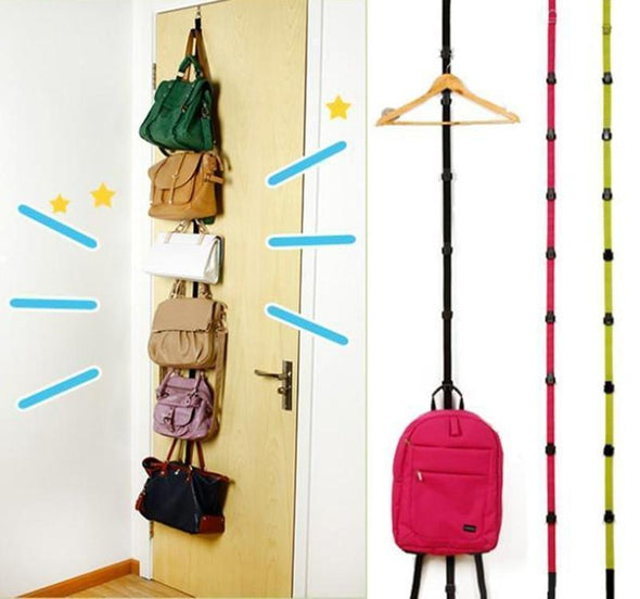 Multi-Function Straps Hooks Hanger Cap Bag Over Door