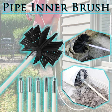 Drill-Powered Pipe Inner Brush
