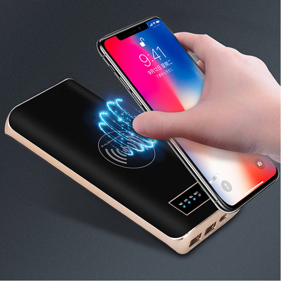 Qi wireless fast charger power bank 20000mAh