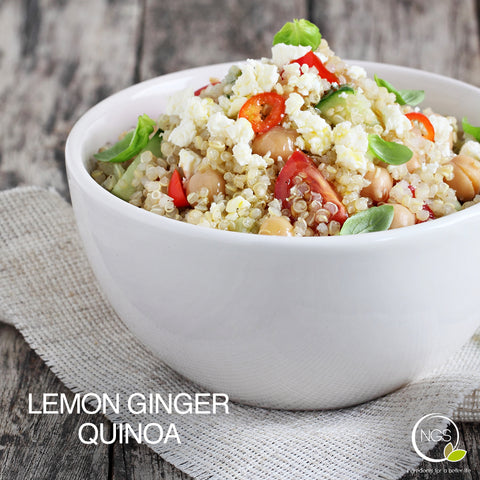 LEMON GINGER QUINOA