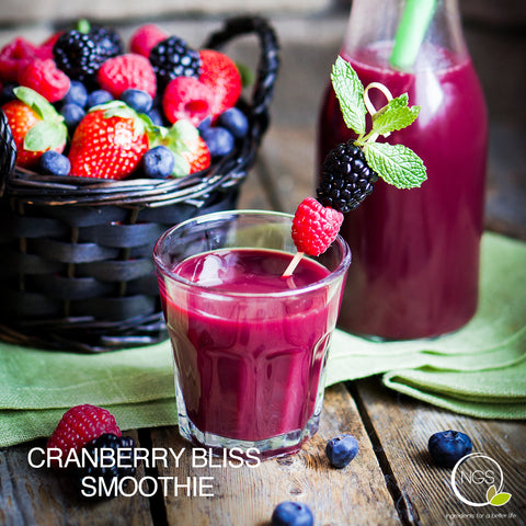 CRANBERRY BLISS SMOOTHIE