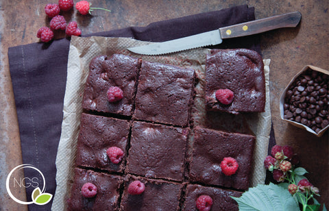 Gluten-free Raspberry Brownies