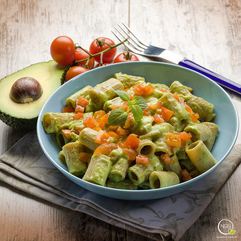 Avocado Pesto Pasta Recipe