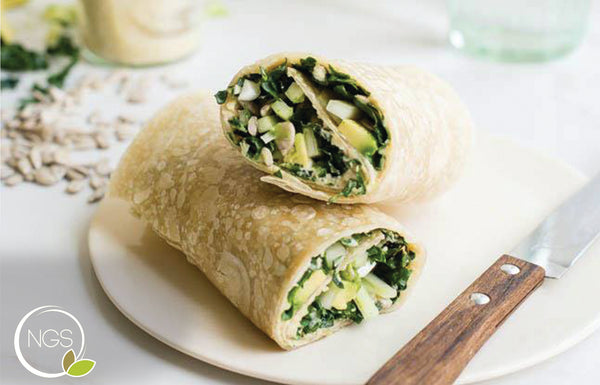 Afternoon Green Protein Wrap