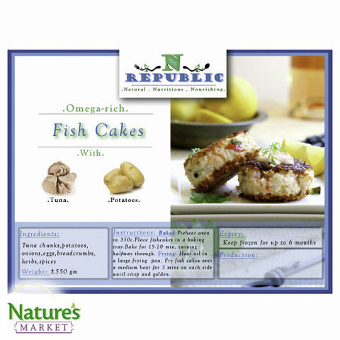 Fish Cakes (Frozen)