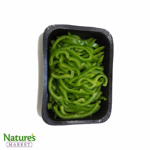 Green Pepper - Sliced (Julienne) - High Grade