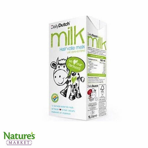 Semi Skimmed Milk (Chemical Free & Free Range)