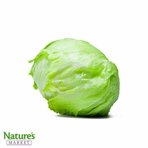 Green Iceberg Lettuce (Chemical Free)