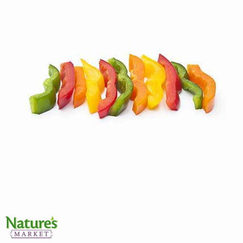 Colored Bell Pepper- Sliced