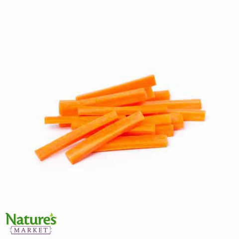 Carrot- Peeled & Sliced (Chemical Free)