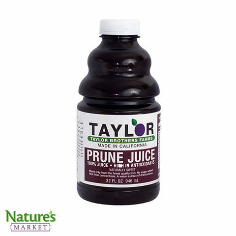 Prune Juice (Natural Laxative)