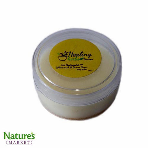 Body Butter with White Musk and Brown Sugar