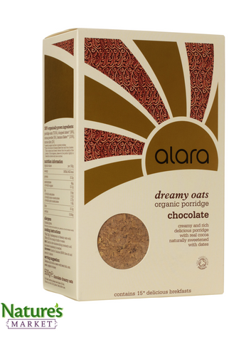 Alara Dreamy Oats Chocolate- (Organic)