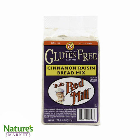Cinnamon Raisins Bread Mix (Gluten Free)