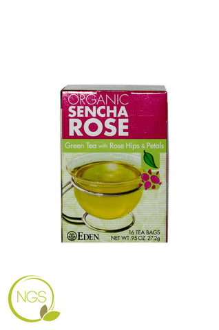 Green Tea with Rose Hips & Petals (Organic)