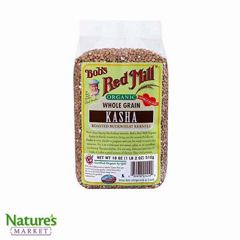 Buckwheat Toasted Kasha (Organic)
